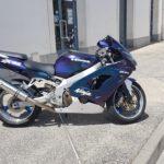 Personnalisation d'une moto kawasaki