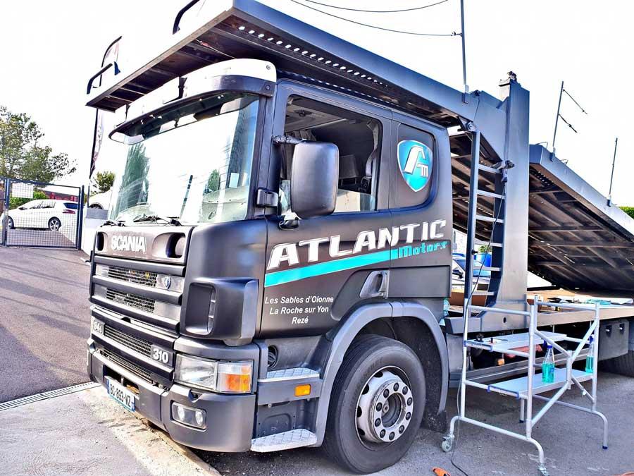 Covering Scania aux Sables d'Olonne en Vendée