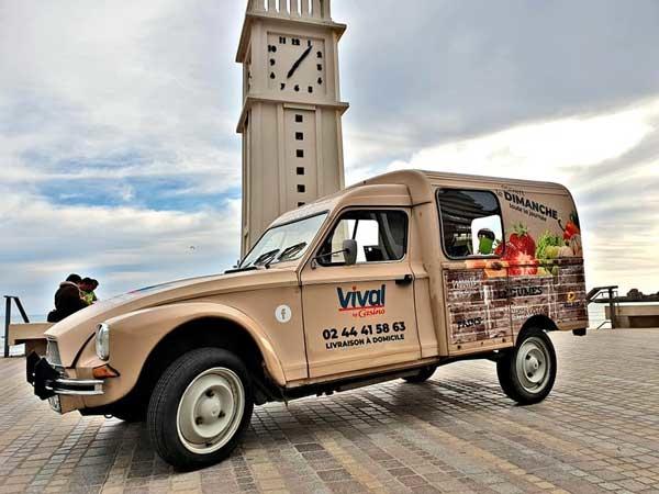 covering d'une voiture aux Sables d'Olonne en Vendée