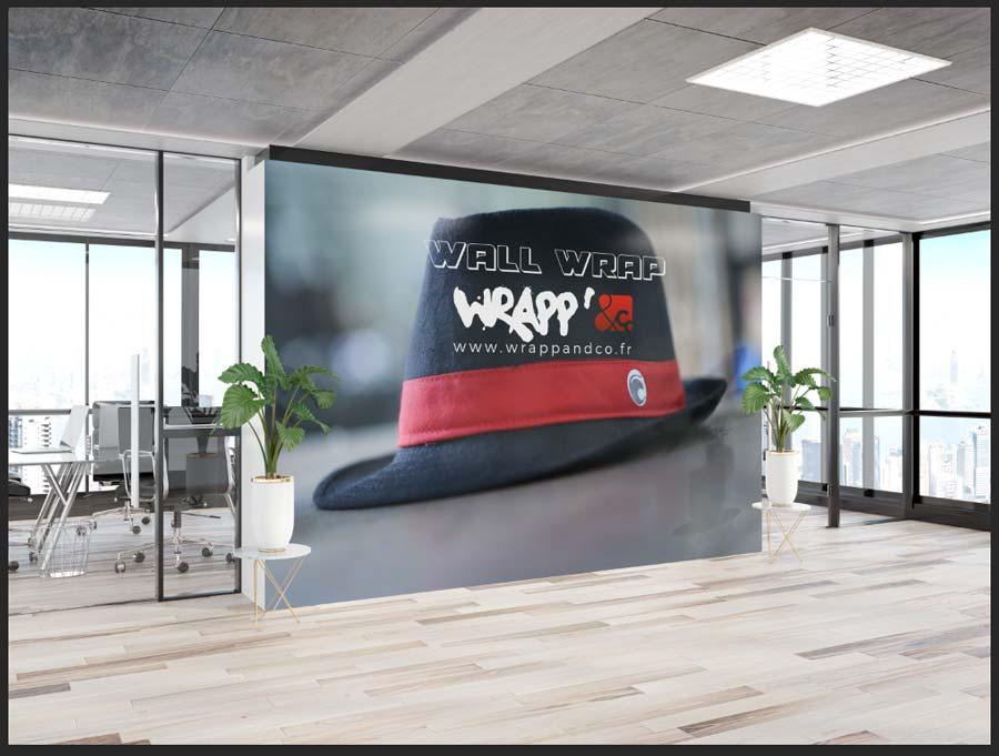 Vinyle mural pour entreprise