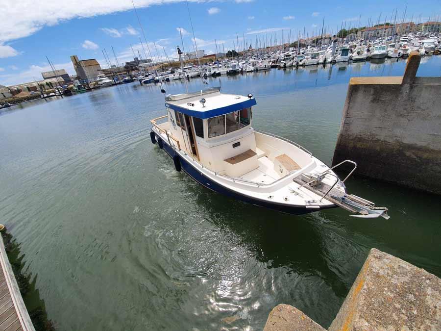 Covering wrapping bateau aux Sables d'Olonne en Vendée