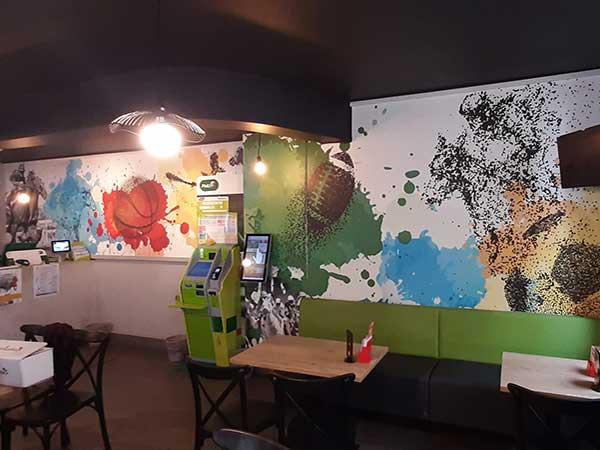 Covering mural aux Sables d'Olonne en Vendée