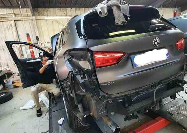 covering SUV BMW aux Sables d'Olonne en Vendée