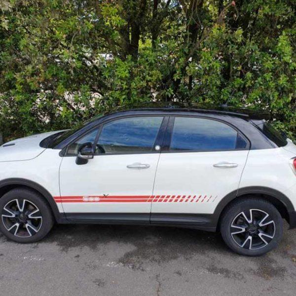 Covering Fiat 500 aux Sables d'Olonne en Vendée