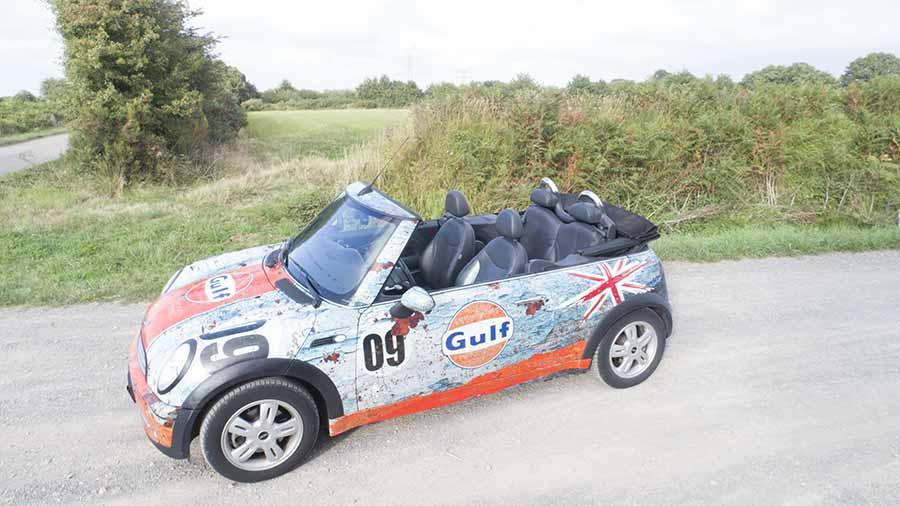 covering mini cabriolet Vendée