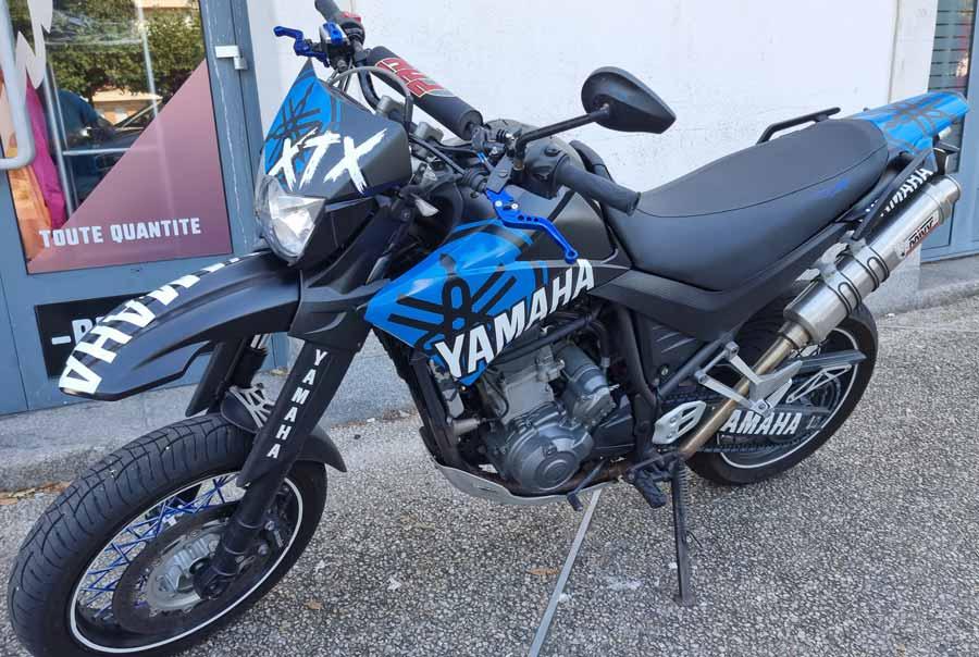 Wrapping et covering moto aux Sables d'Olonne en Vendée