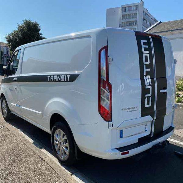 Covering Ford Transit Custom